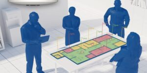 Mit dem optischen Präsenzmelder thePixa KNX Gebäudeautomation und Gebäudebetrieb optimieren